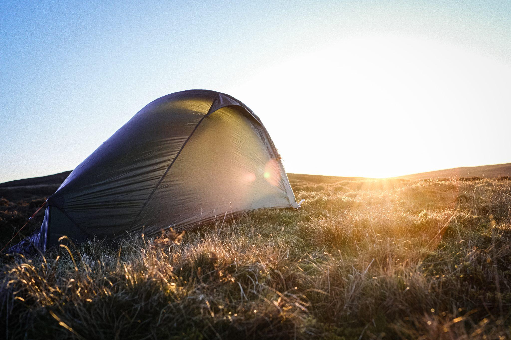 Lightweight bike touring tent - vango Hydrogen F10