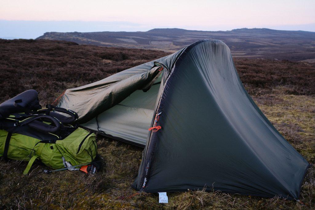 Vango 1-man tent - project hydrogen