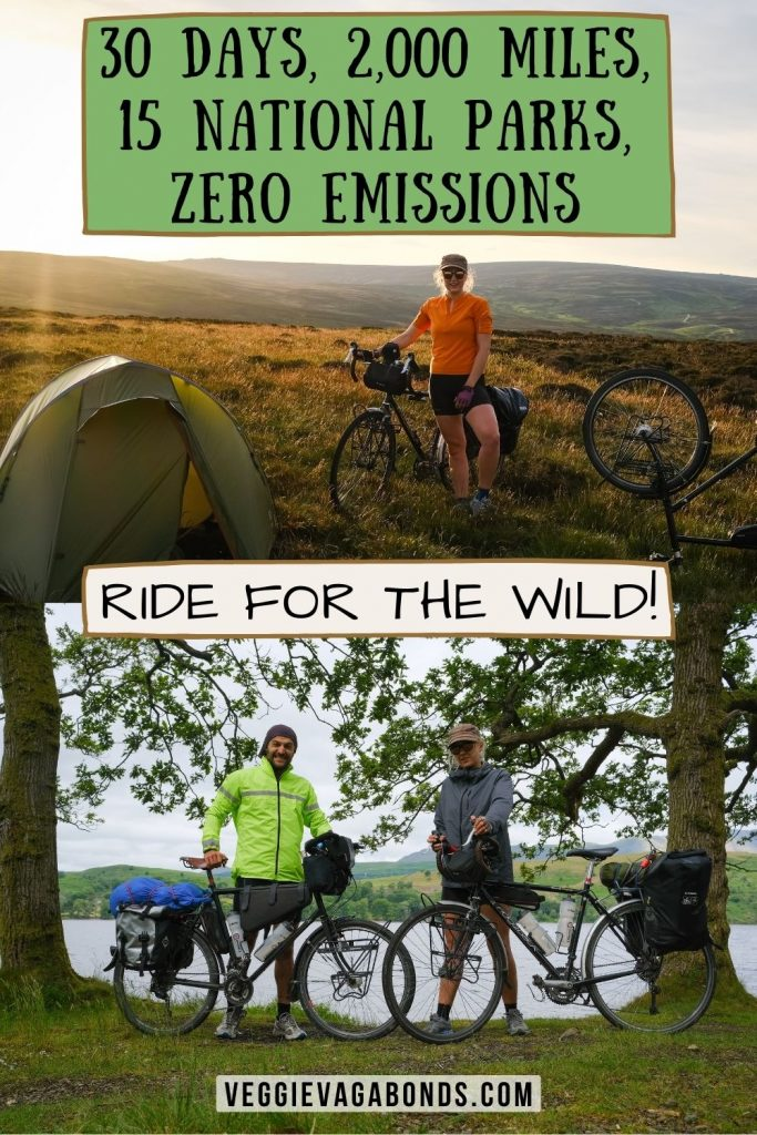 Riding for the wild pin