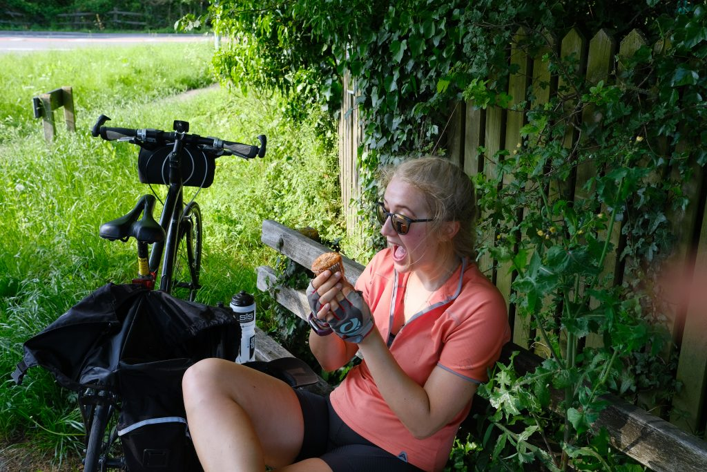 Cycle touring food