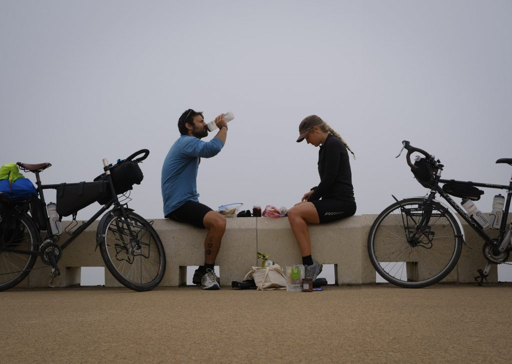 Vegan cyclist diet