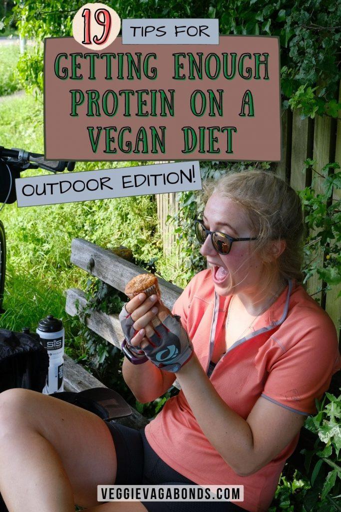 Protein on a vegan diet pin