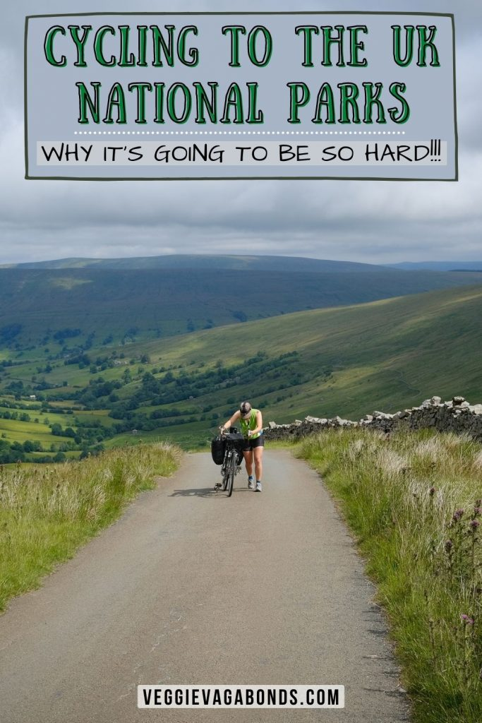 Cycling to UK National Parks - Ride for the Wild pin