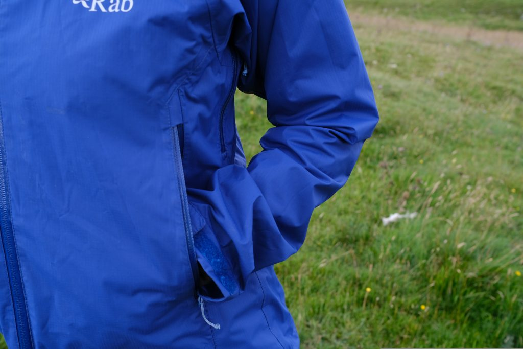 Rab rain jacket