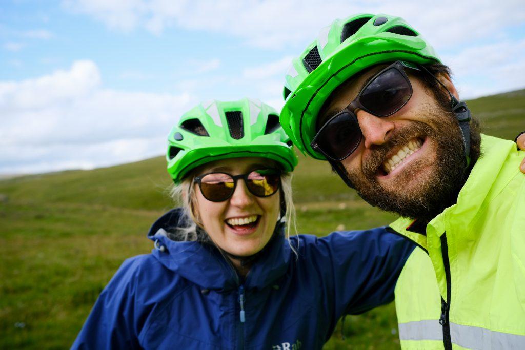 Two vegan cyclists - Veggie Vagabonds