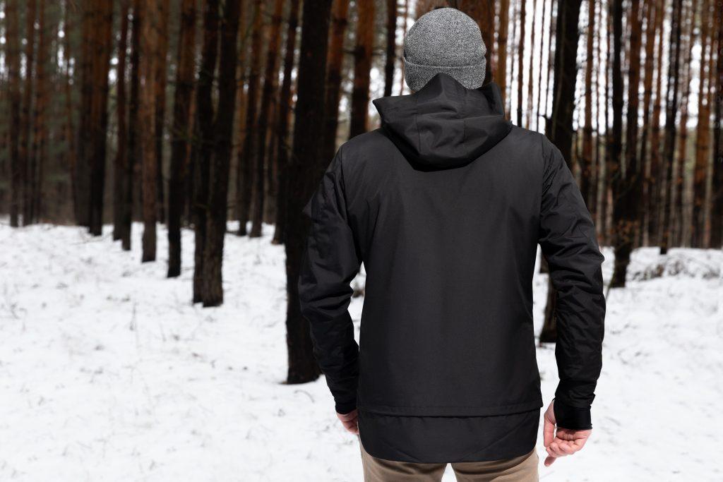 Graphene hiking jacket