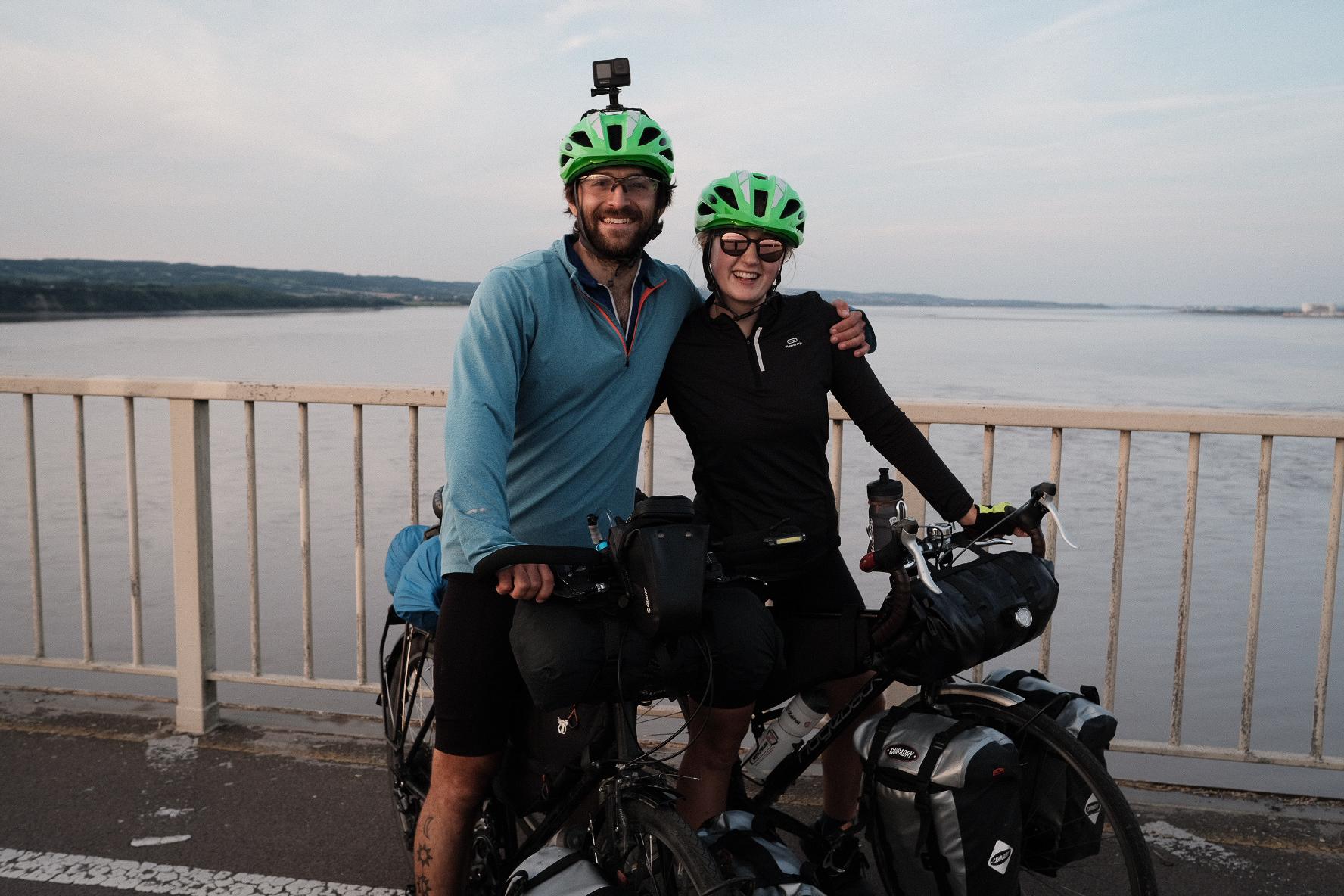 Cycling the Severn Bridge